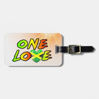 One love luggage tag