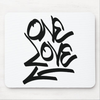 one-love mouse pad