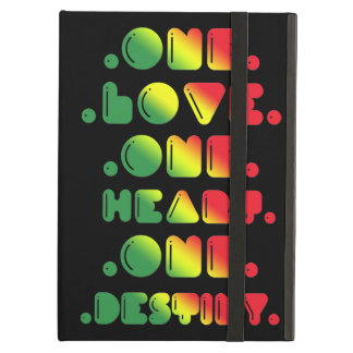 ONE LOVE, ONE HEART, ONE DESTINY iPad AIR CASES