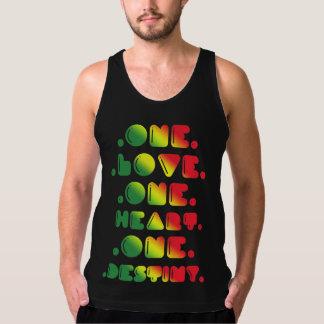 ONE LOVE, ONE HEART, ONE DESTINY. SINGLET