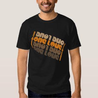 One Love Orange T Shirt