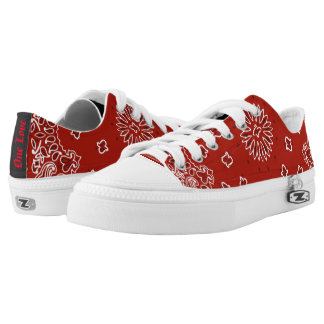 One Love Printed Shoes