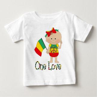 One Love Rasta Baby 2 Baby T-Shirt