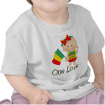 One Love Rasta Baby 2 Tees