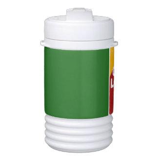 One love rasta drinks cooler