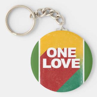 One love rasta key ring