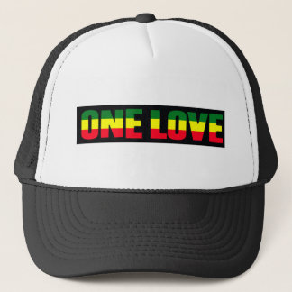One Love reggae cap