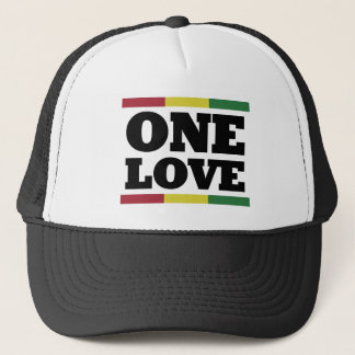 One love - Reggae - Rastafara Cap