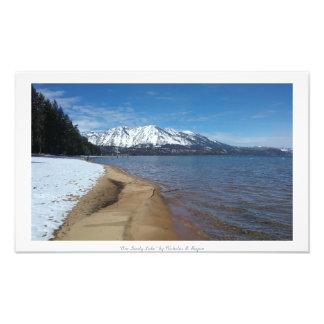 """One Lovely Lake,"" Lake Tahoe Nature Photo Art"