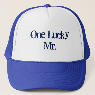 One lucky Mr Trucker Hat