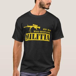 One Man Well Regulated Militia T-Shirt