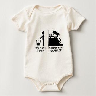 One Mans Trash Baby Bodysuit