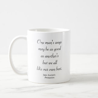 One Man's Ways Coffee Mug