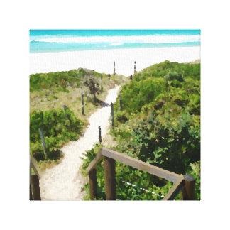 One Mile Beach Canvas Print