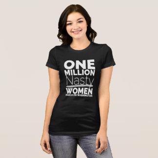 One Million Nasty Women T-Shirt