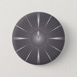 one minute 6 cm round badge