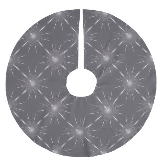 one minute brushed polyester tree skirt