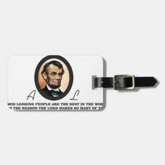one more abe to go luggage tag