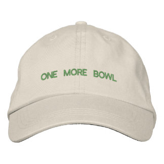 One More Bowl Hat Embroidered Cap