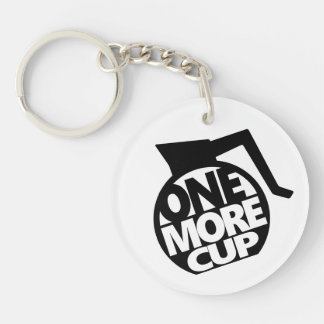 One More Cup Key Ring