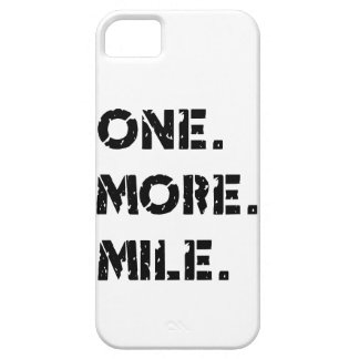 One. More. Mile. iPhone 5 Cover