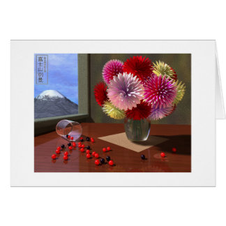 One More View Of Mount Fuji Card