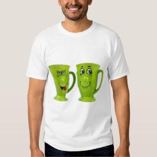 One mug says to another mug ... shirt