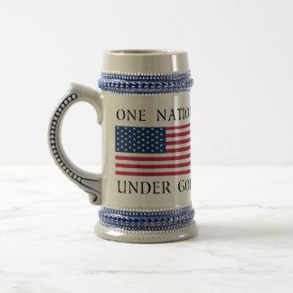 One Nation Beer Stein