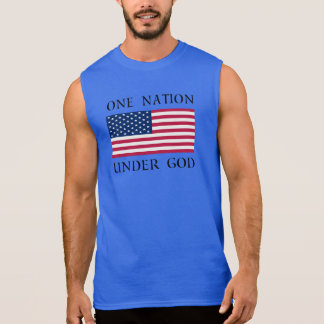 One Nation Sleeveless Shirt