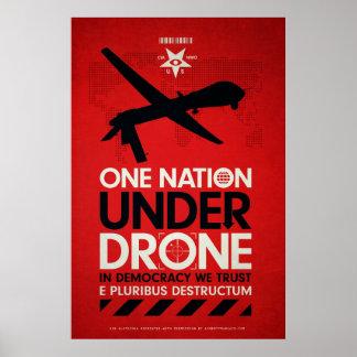 One Nation Under Drones by Von Glitschka Poster