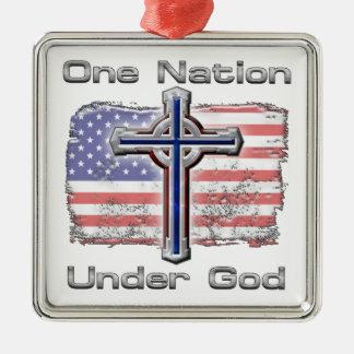 One Nation Under God Christmas Ornament