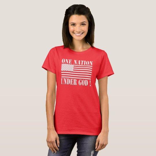 ONE NATION UNDER GOD MAGA GEAR T-Shirt