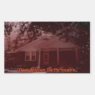 One Night In October Sticker