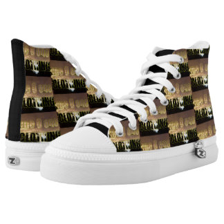 one O one Abstract Pattern High Tops