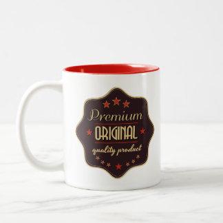 One Of a Kind 11 oz Two-Tone Coffee Mug