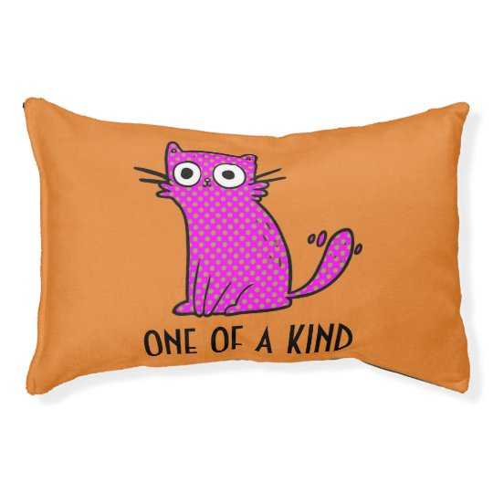 One of a kind cat bed custom colour background for One of a kind beds