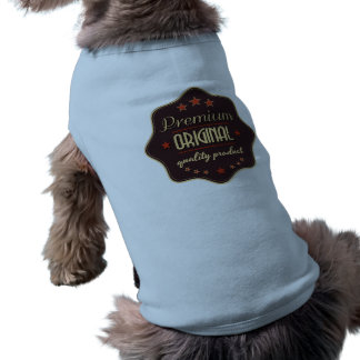 One Of a Kind Doggie Ribbed Tank Top Sleeveless Dog Shirt
