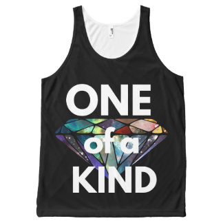 One of a Kind II All-Over Print Singlet