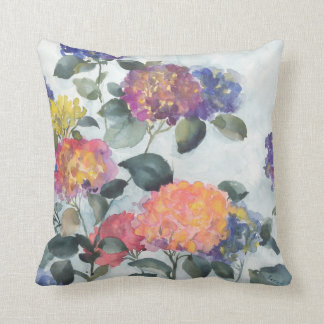 One of a kind watercolor painting on your pillow
