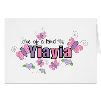 One Of A Kind YiaYia Greeting Card