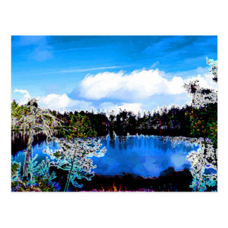One of Finlands Lakes Postcard