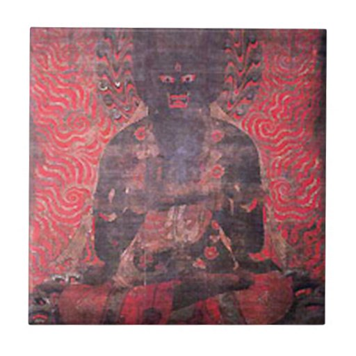 One of the Five Bodhisattvas of Strength Tiles