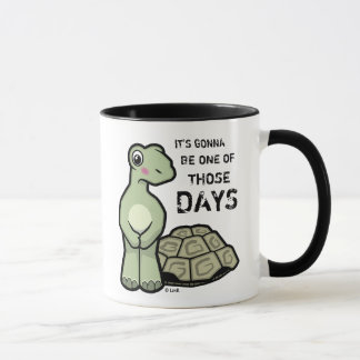 One Of Those Days Cute Tortoise Mug