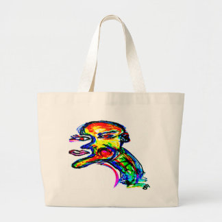 one of two jumbo tote bag