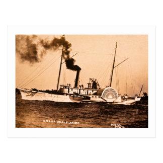 One of Uncle Sam's Louis Pesha Vintage Great Lakes Postcard