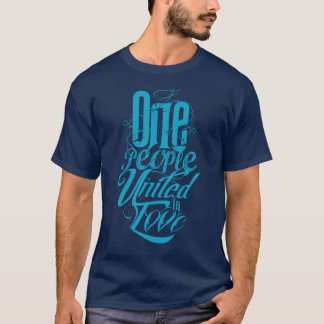 One people united T-shirt