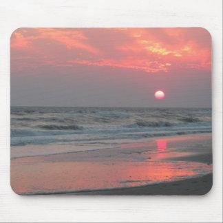 One Perfect Sunset - Oak Island, NC Mouse Pad
