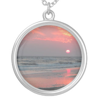 One Perfect Sunset - Oak Island, NC Necklaces