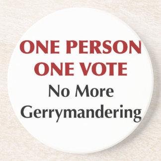 One Person One Vote, No More Gerrymandering Coaster
