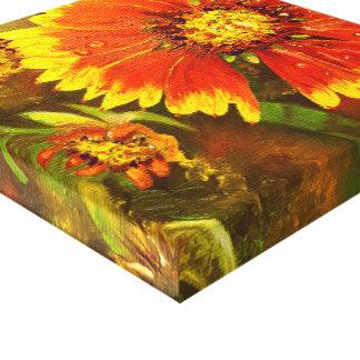 One Petal Short of a Full Bloom Canvas Print